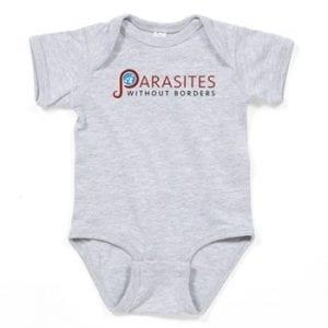 Baby Onesie w/ PWB Logo - Color: Gray
