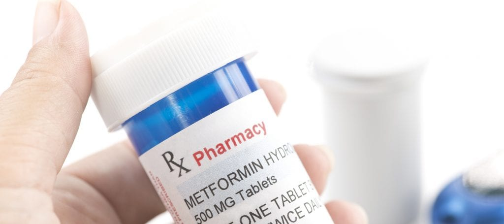 Metformin Pill Bottle